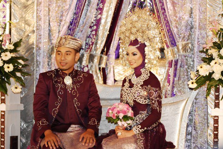 Minangkabau, Indonesian wedding