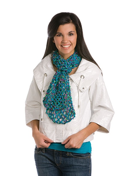 Ways to tie scarves: square, oblong, infinity