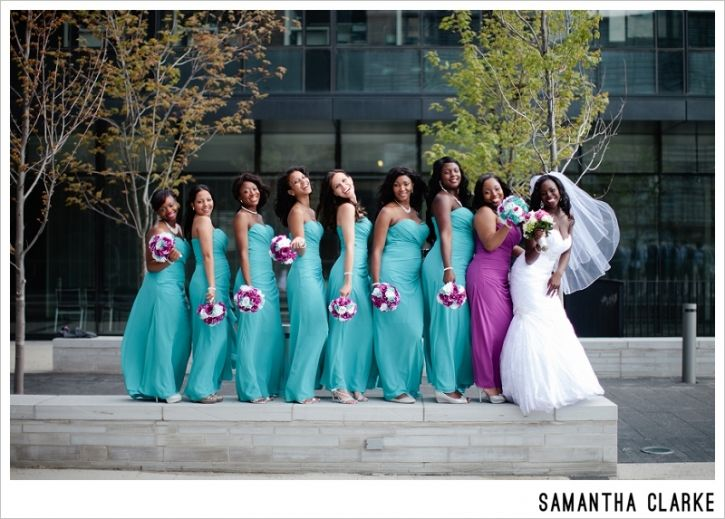 guyanese-jamaican-wedding-bridemaids