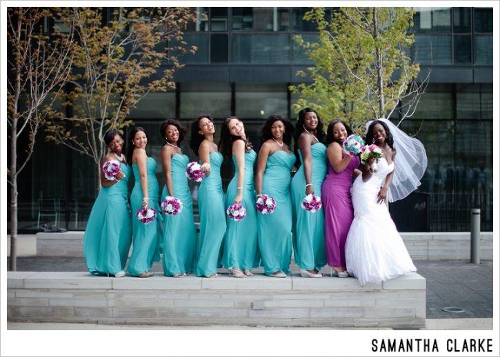 guyanese-jamaican-wedding-bridemaids