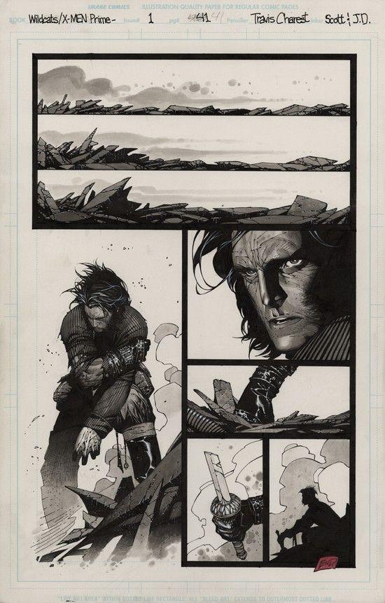 Wolverine in Wildcats/X-Men by Travis CHAREST