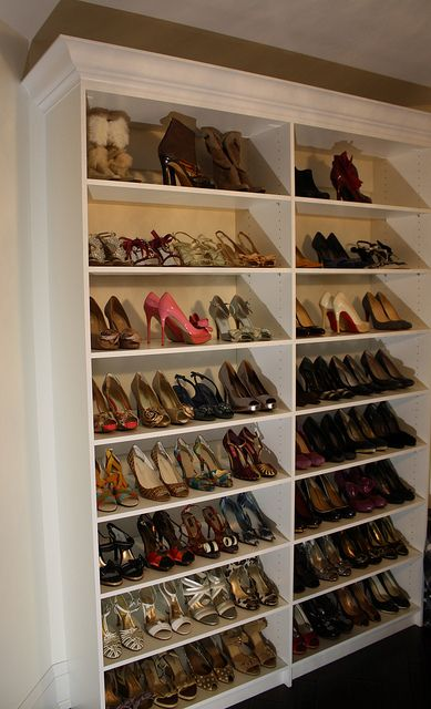 Exceptional Closet Shoe Racks...perfect For The Large Amount Of Shoes I Own Already