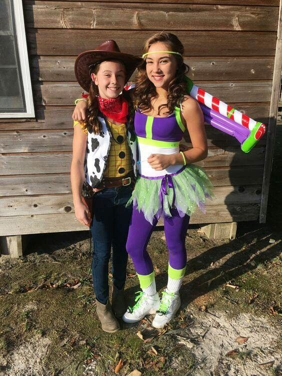 Matching Halloween Costumes For Best Friends
