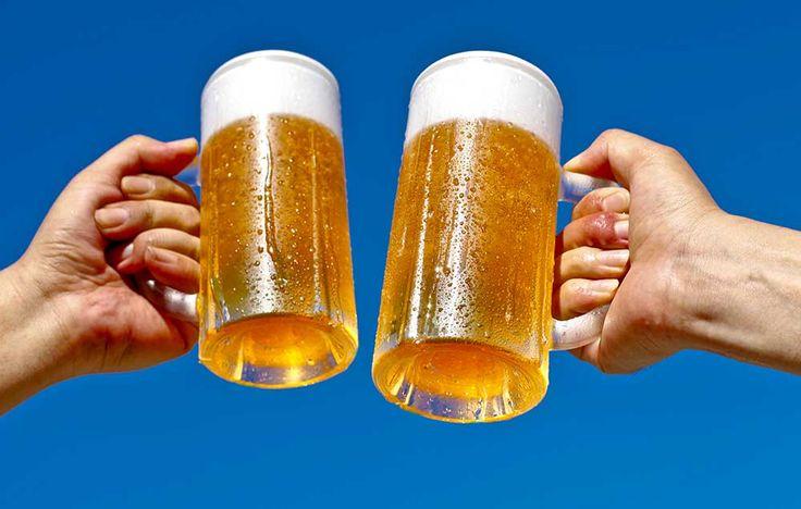 7 Healthy Reasons to Drink Beer  http://www.menshealth.com/health/healthy-reasons-to-drink-beer