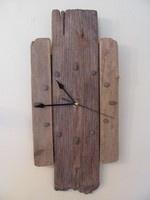 Driftwood clock handmade by Luminosa