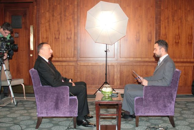 Ilham Aliyev was interviewed by the Hungarian National Television - Transcript