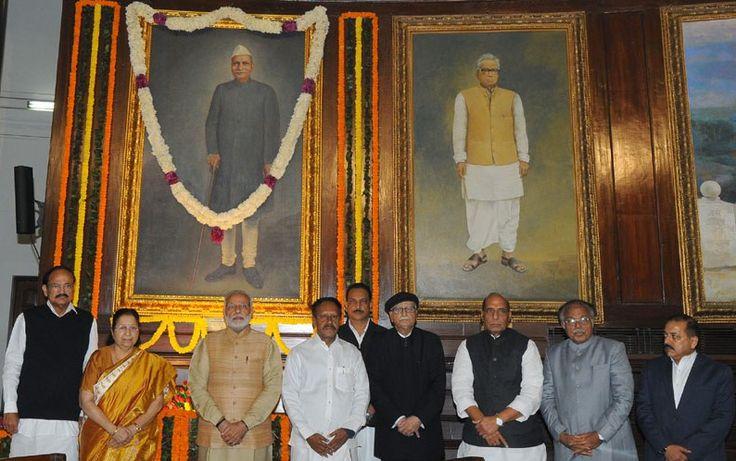 Modi Pays Tribute To Rajendra Prasad