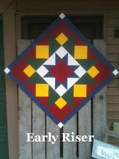 Ties2ThePast: The BarnQuiltStore Is OPEN! Barn Quilts For Sale!!!!!!