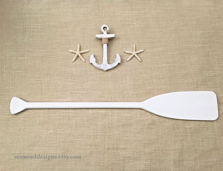 "41"" Painted Paddle (1) for Nautical Wedding Guest Book / Nautical Nursery Decor / Beach Wedding / Oar / Lake Cottage / Canoe Paddle #nautical #baby #nauticaldecor #nauticalwedding #alternativeweddingguestbookpaddle #canoepaddle #paddle #oar #weddingguestbook #capecodwedding #nauticalbaby"