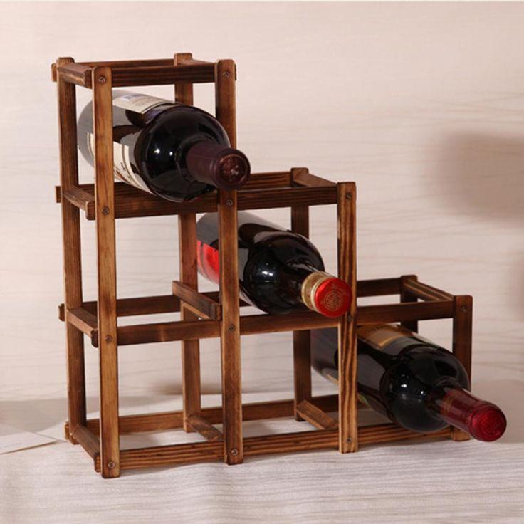 Foldable Wine Rack - BetterMeKitchen.com