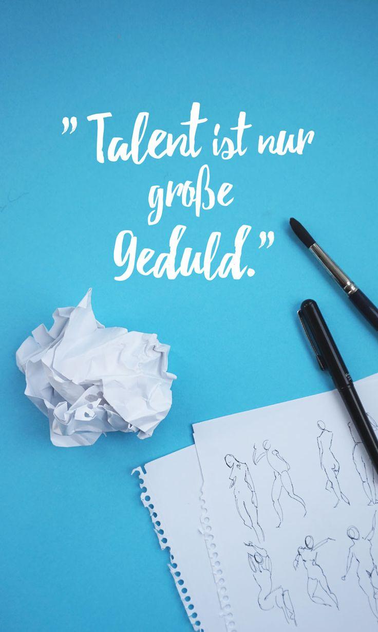 Papieraugen Zeichenblog – Skizzenbuch-Liebe & Kreativität : Warum du es auch ohne Talent schaffen kannst