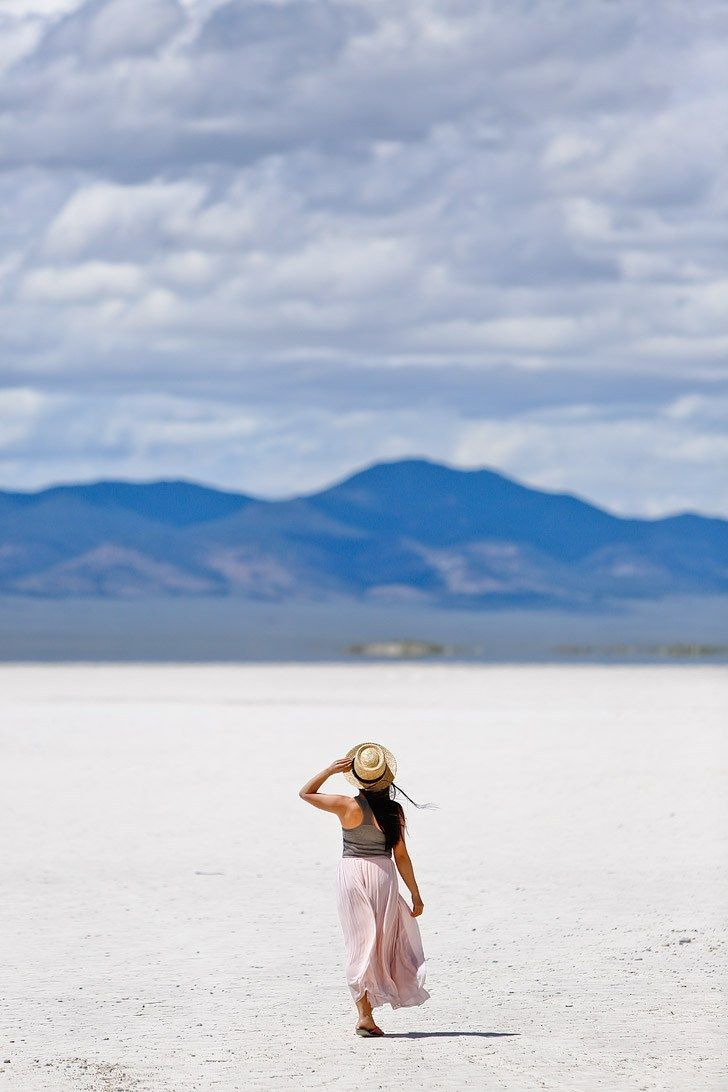 Salt Flats on the Loneliest Road in America / Highway 50 + Best Things Do and See in Nevada // Local Adventurer #nevada #roadtrip #travelblog