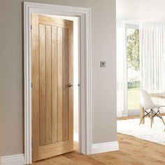 Deanta Ely Oak Door 1 2 Hour Fire Rated Prefinished April 16 2019 At 09 15pm Interior Doors Cara In 2019