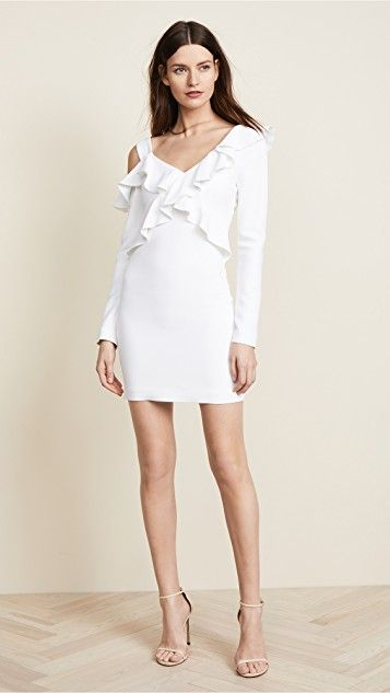 bc72ca7f669 Cushnie Et Ochs Bella Cold Shoulder Mini Dress | My Style | Dresses ...
