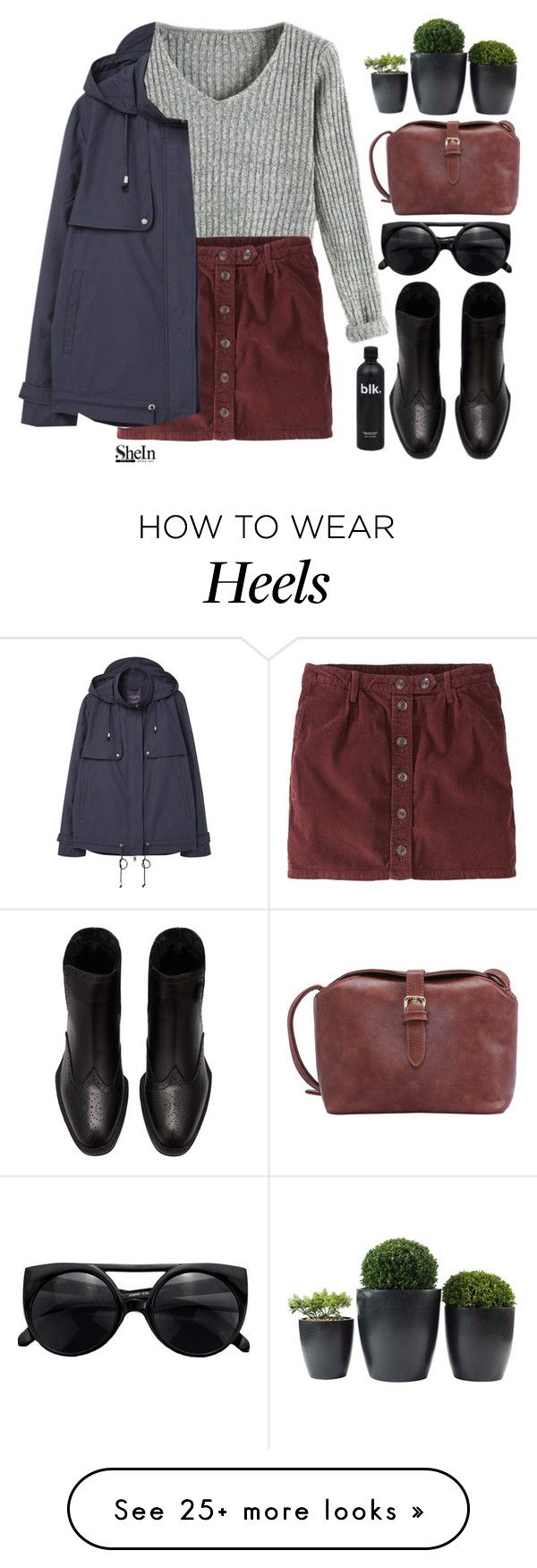 """#SheIn"" by credentovideos on Polyvore featuring Jack Wills and Violeta by Mango"