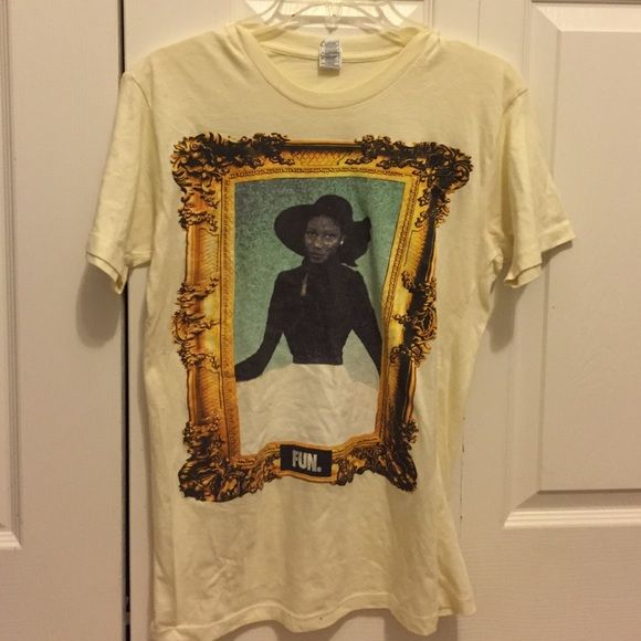 Fun. Band shirt with janelle monae Cute band shirt!! Only worn once ❤️ Tops Tees - Short Sleeve