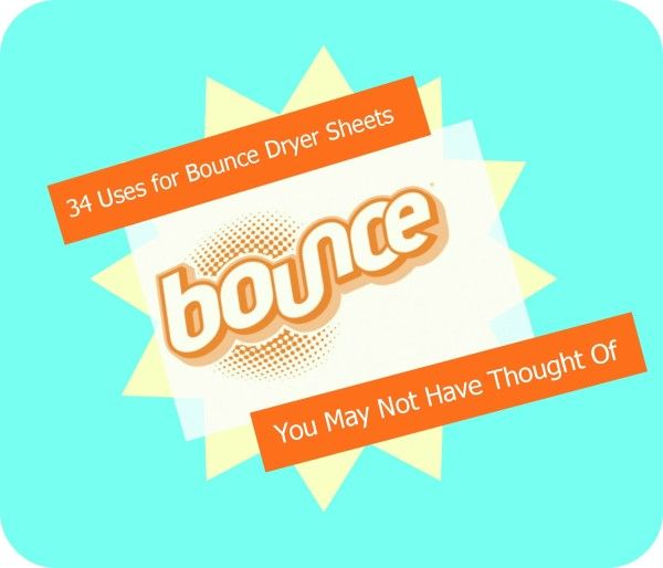 34 Uses for Bounce Dryer Sheets You May Not Have Thought Of