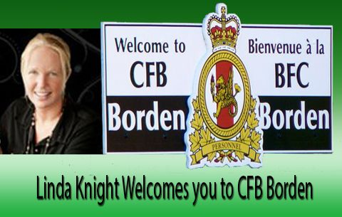 Borden Military Relocation.  Contact Linda Knight when posted in or out of CFB Borden.  Treat you and your family to some extra special service.
