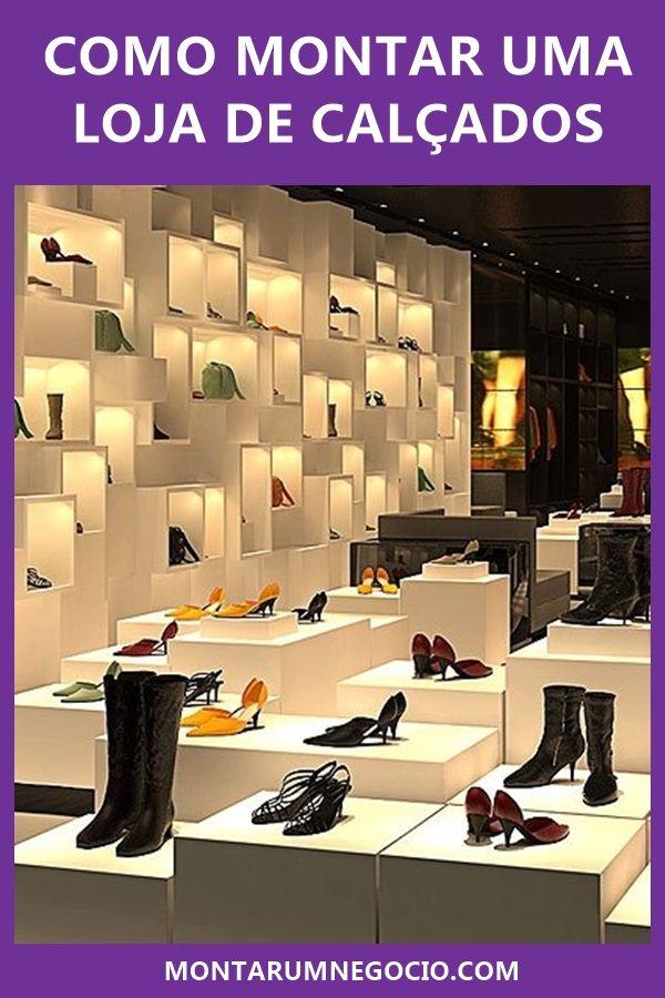 378caa8b4 Confira aqui como montar uma loja de calçados de sucesso! Trabalhar com a  venda de