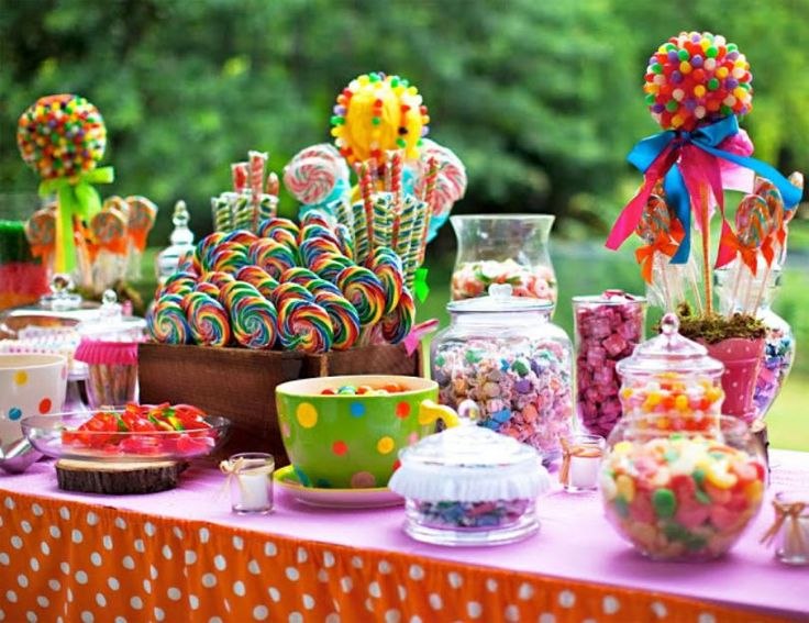 the best ideas for a beautiful sweet tables you want to make a table of candy for a birthday the best ideas to decorate a sweet tables