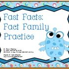 This Fact Family activity addresses Common Core math standard 2.OA.2.   Building math fluency can be fun!! $