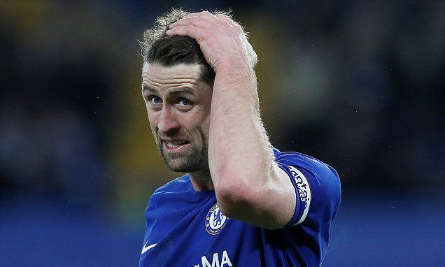 Gary Cahill slammed by Chelsea fans after Bournemouth loss