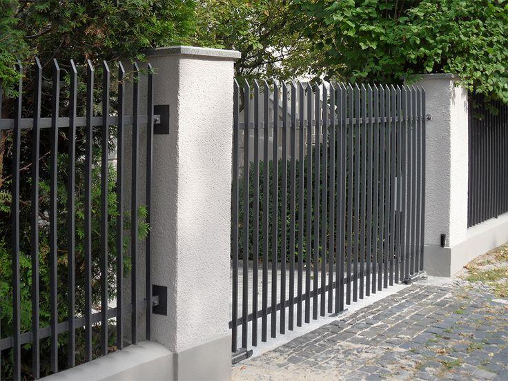 Кованный забор - просто и красиво