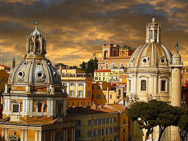 "View from the ""Altare della Patria"" monument, Rome"
