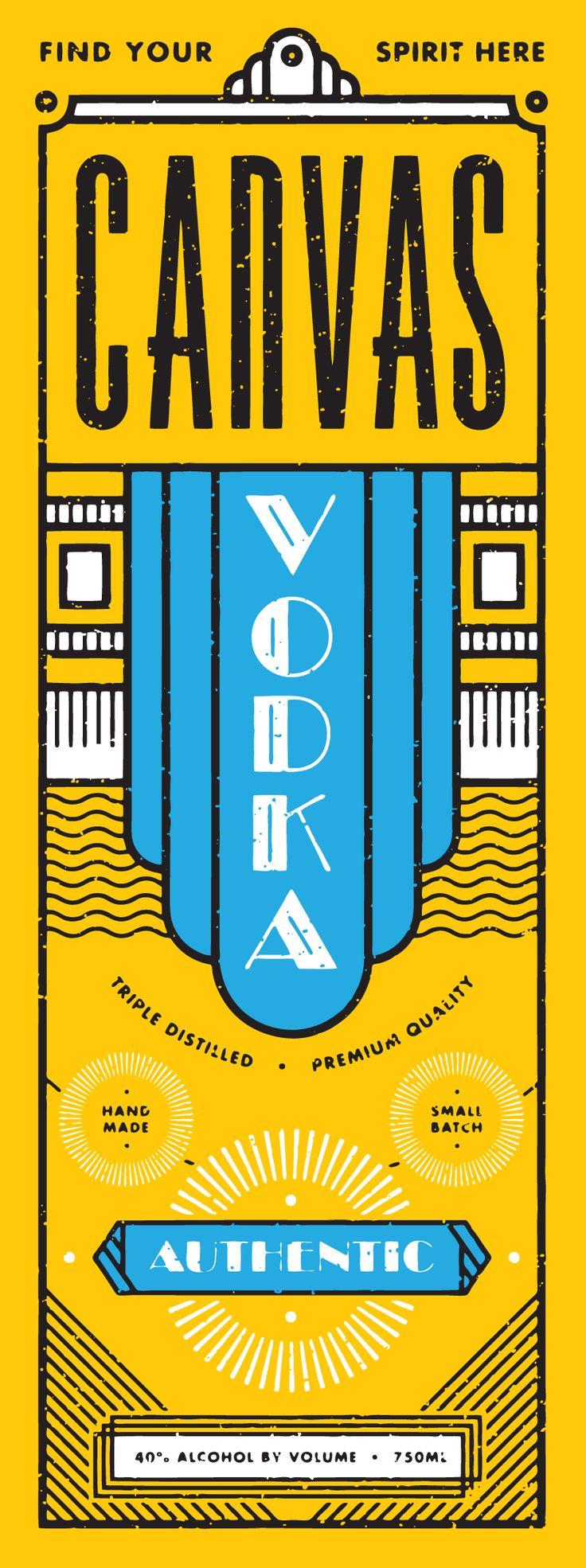 Liquor-bottle-package-art-deco-design