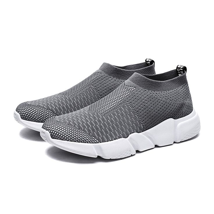 Building Art Men's Lightweight Breathable Mesh Athletic Running Walking Shoes Loafers Shoes