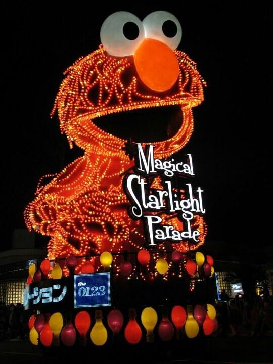Elmo ~ osaka universal studio, Japan