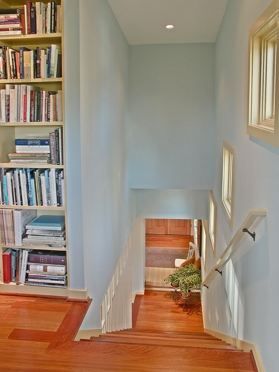 1000 ideas about painted stair railings on pinterest paint stairs railings and oak stairs - Staircase small space paint ...