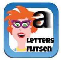 Juf Jannie – Letters flitsen voor kinderen: Een app met drie verschillende oefeningen met letters. De app is gratis.