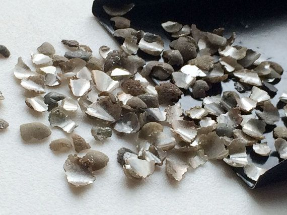 WHOLESALE 10 CTW 80 Pcs Grey Diamond Nails Grey by gemsforjewels