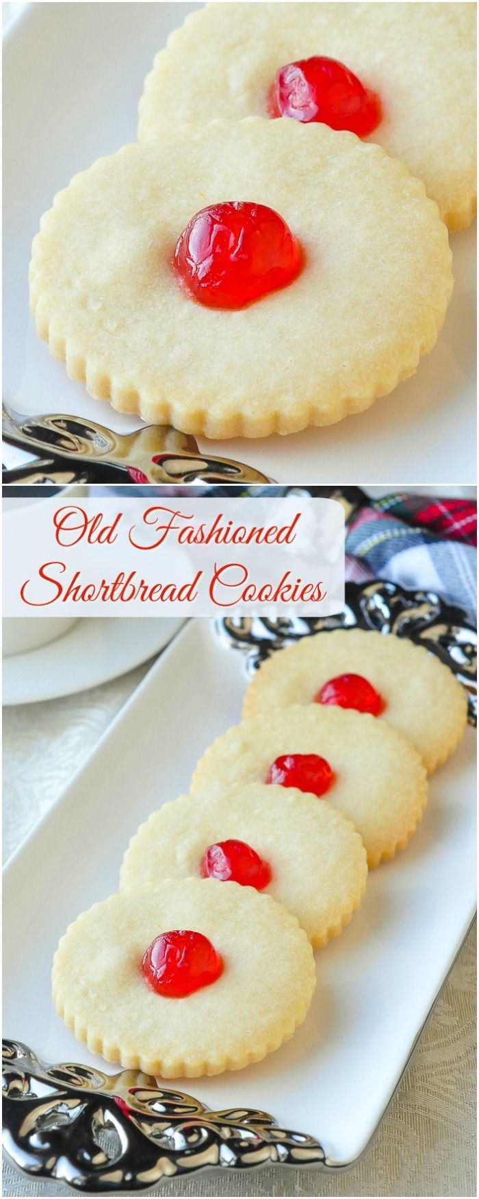 Old fashioned Shortbread Cookies - simple buttery perfection! Another discovery while updating our most popular recipes. This one stays in the TOP 25 all year round! (Old Fashioned Sweet Recipes)