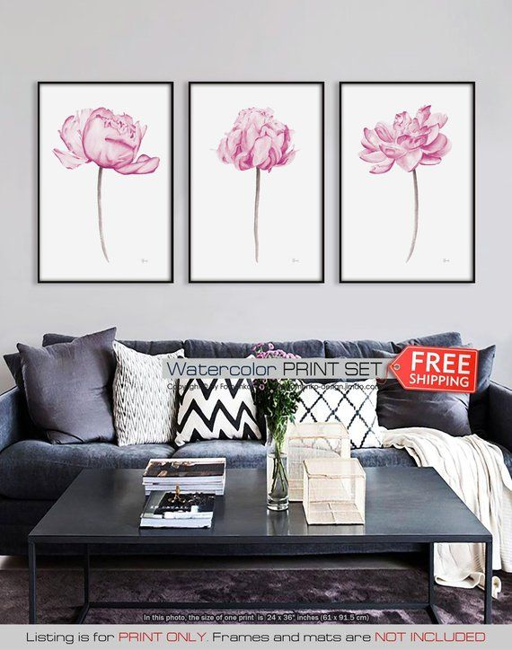 Home & Garden Home Decor Lotus Leaf Flowers Hd Painting Printed On Canvas Art Wall Picture For Bed Room Sitting Room Home Decor No Framed Or Diy Framed