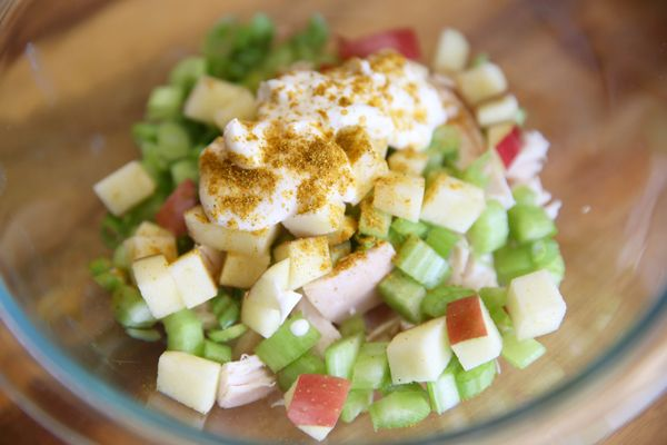 how to make a waldorf salad with chicken