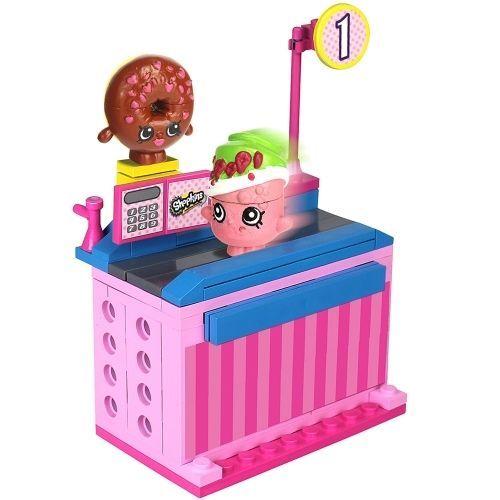 Shopkins Kinstructions Check out lane D'lish Donut & Soda Pops