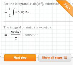 Integral Calculator: Integrate with Wolfram|Alpha