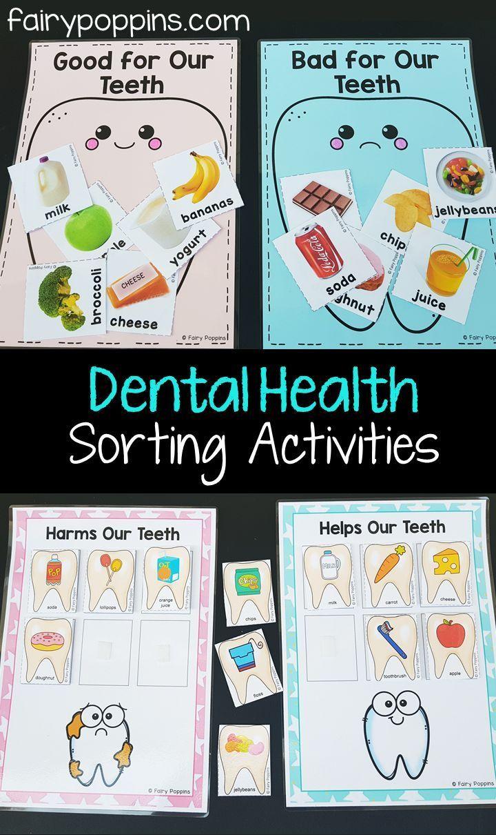 hight resolution of Dental activities for kids in preschool