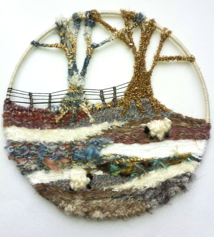 The Making House — Circular Landscape Weaving