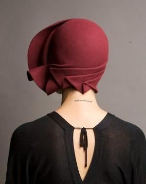 1920's Cloche hat by Chastitie