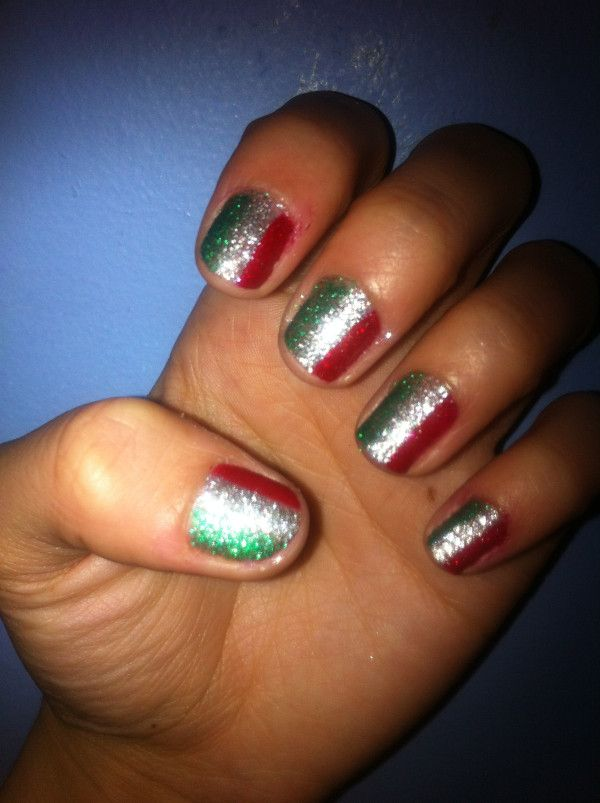 12 best Nail art images on Pinterest | Flag nails, Italia and Italy