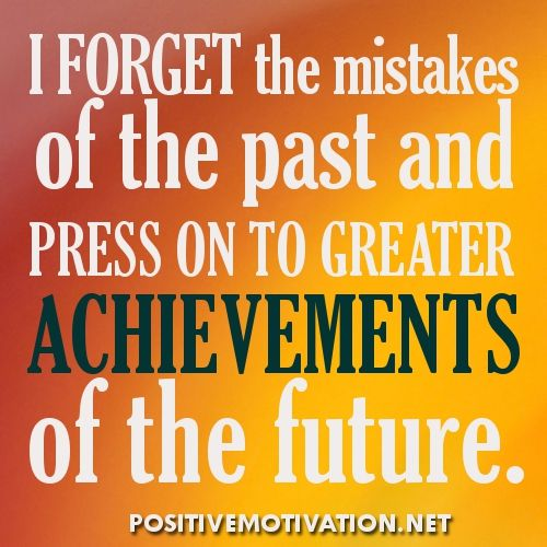 Positive Affirmations For Women | Daily Positive Affirmations – I forget the mistakes of the past and ...
