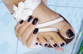 Uñas acrílicas y uñas gel en pies. www.topnails.cl FONO: 94243426
