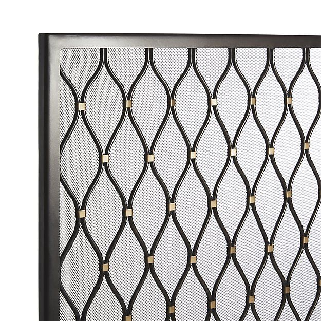 1000 Ideas About Fireplace Screens On Pinterest Glass
