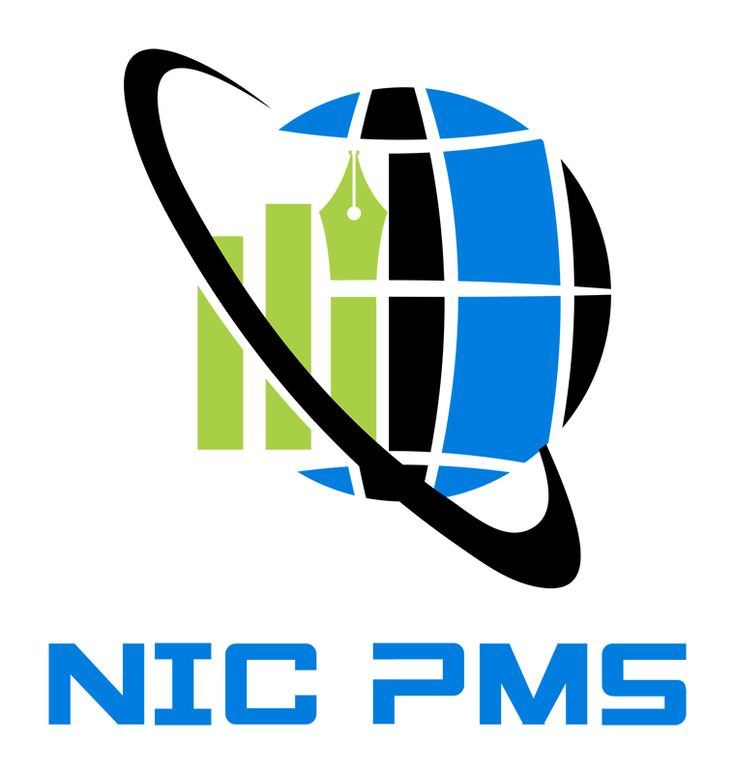 Logo NIC PMS. Portofoliu: http://www.lightpixel.ro