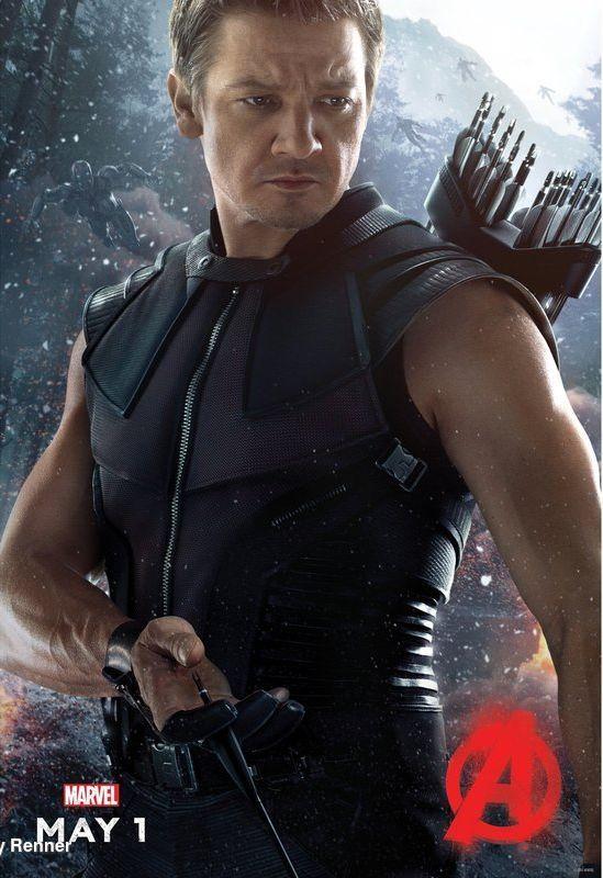 Avengers 2 l'Ere d'Ultron - HawkEye - Le 22/04/15 à #Kinepolis http://kinepolis.fr/films/avengers-lere-dultron?utm_source=pinterest&utm_medium=social&utm_campaign=avengersleredultron#showtimes