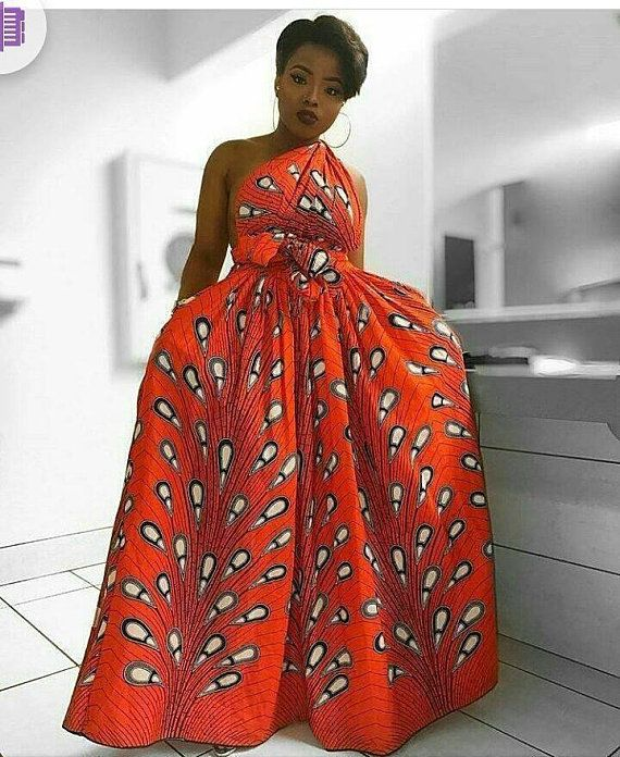 d7831c5c90c03 African maxi dress-African print dress-Ankara maxi dress-Ankara dress-African  clothing-Ankara cloth