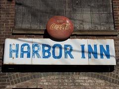"""Cleveland's oldest bar, The Harbor Inn spent many nights here long before the flats was the """"in"""" place to be"""